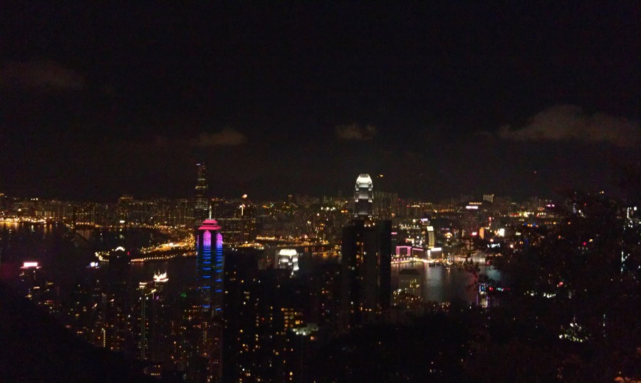 Marlene Lundgren blogg Hong Kong The Peak