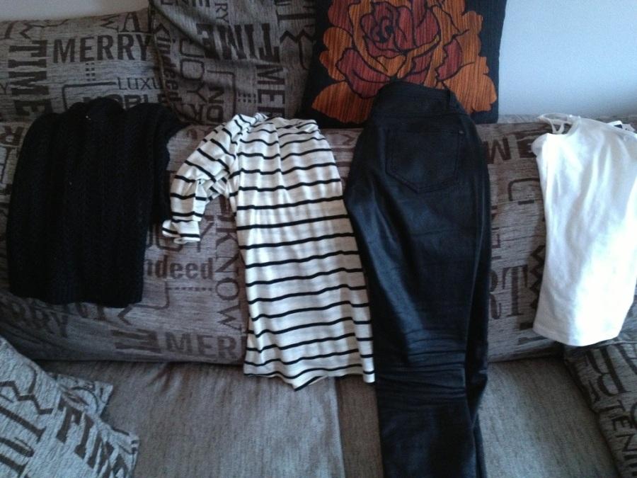 kläder rea lindex byxor tröja Vero moda stickat linne H&M.jpg