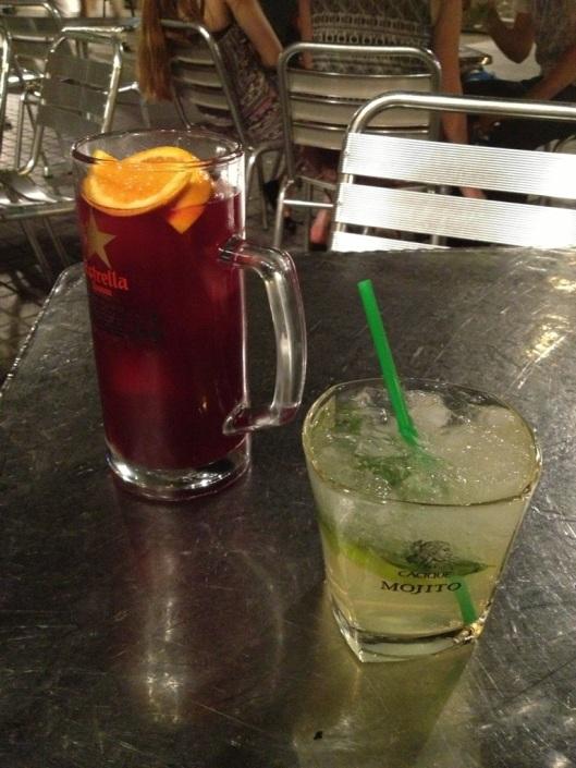 sangria, mojito, drinkar Barcelona, Barcelona utekväll-201413.jpg