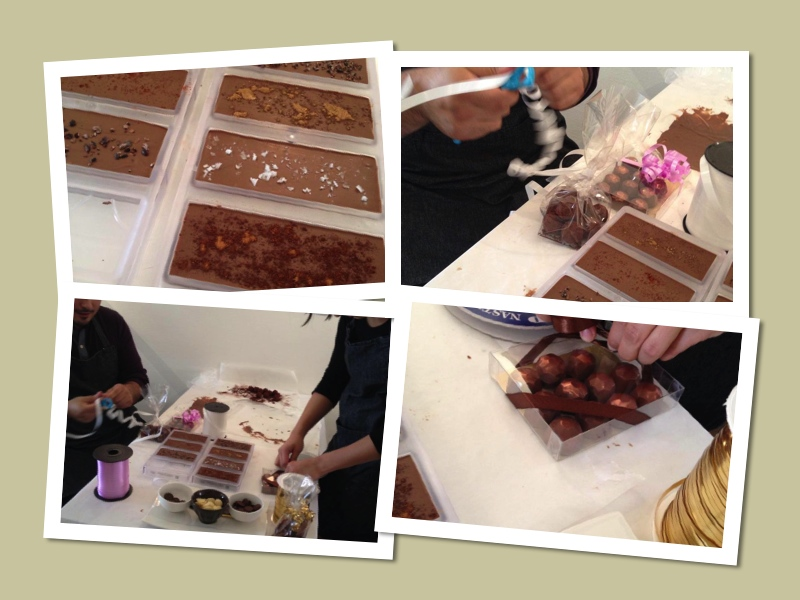 ChocoChocolate stockholm pralinkurs