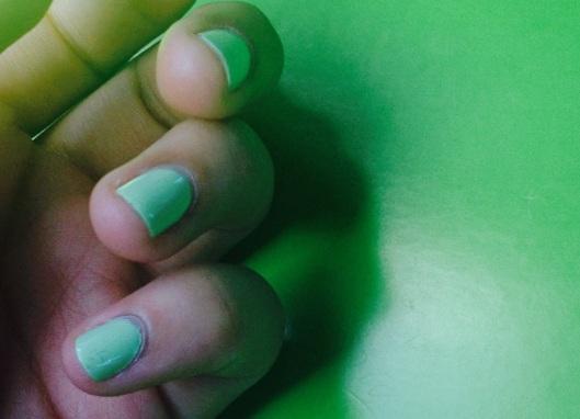 sommarfärg nagellack, nagellack grön.jpg