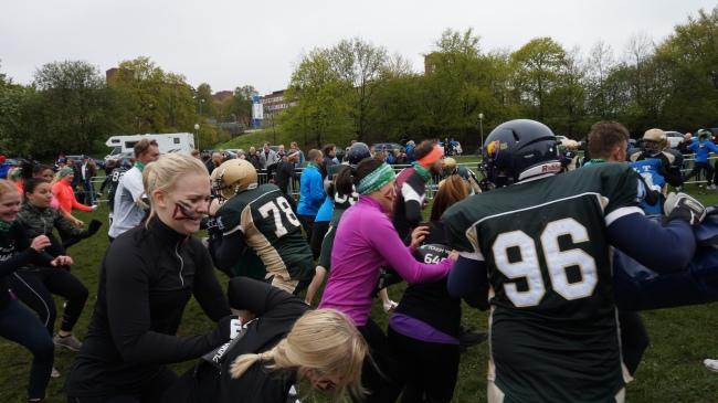 tough viking 2014 hagaparken obstacle race  PAIN